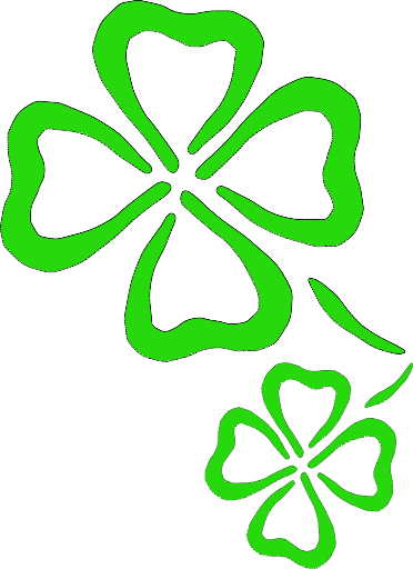 Tiny clover clipart graphic freeuse library Four Leaf Clover Clipart Free | Free download best Four Leaf ... graphic freeuse library