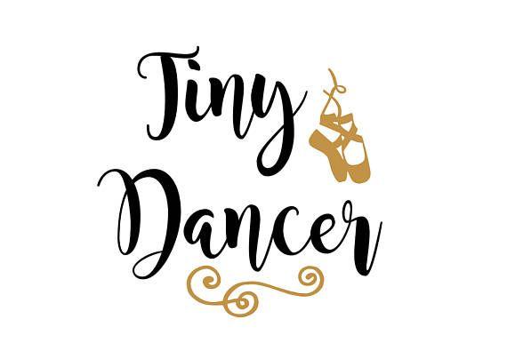 Tiny dancer silouhette clipart jpg library Tiny Dancer SVG File, ballet svg, dance svg, girly girl svg ... jpg library