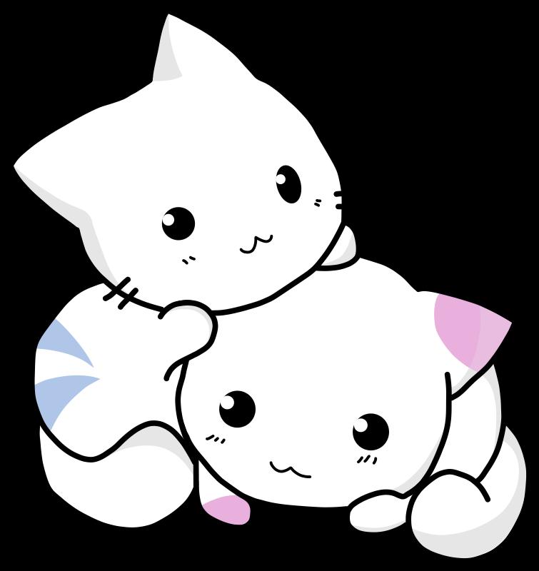 Tiny dog clipart clip art black and white download Clipart - Cuty Cats clip art black and white download