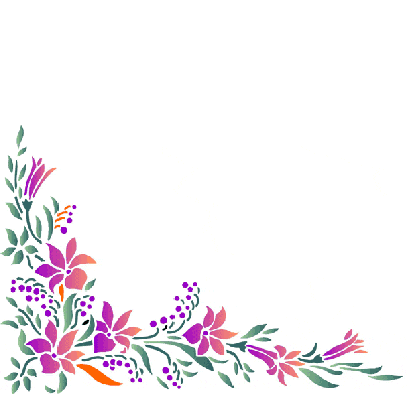 Tiny flower border clipart graphic transparent stock Free Flower Clipart, Flower Background Images, Flower PNG ... graphic transparent stock