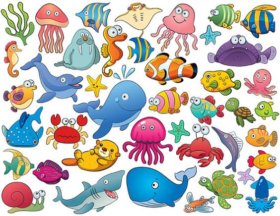 Tiny sea creatures clipart jpg Free Cliparts Sea Creatures, Download Free Clip Art, Free ... jpg
