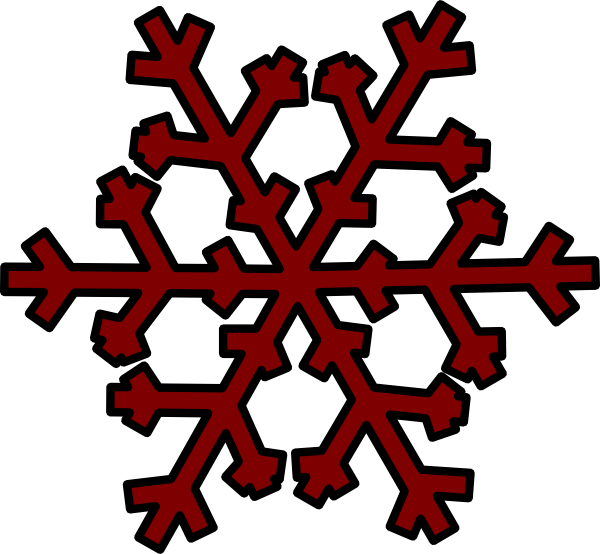 Tiny snowflake clipart clipart black and white stock Pink Snowflake Border Clipart - 2018 Clipart Gallery clipart black and white stock