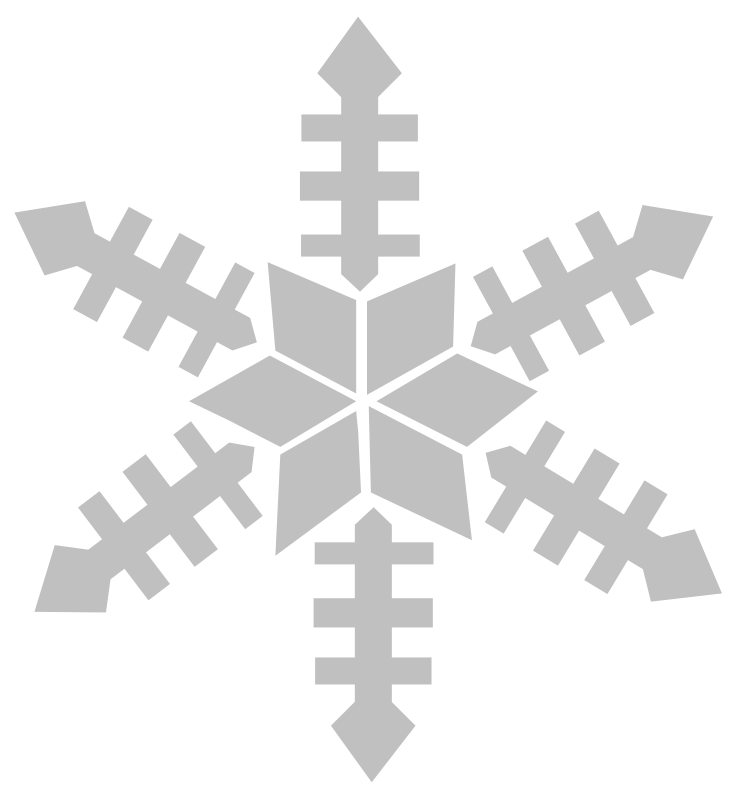 Tiny snowflake clipart clipart library Snow Flake Outline - Cliparts.co clipart library
