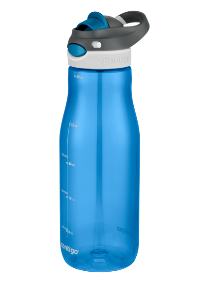 Tiny water bottle clipart banner library AUTOSPOUT® Chug banner library