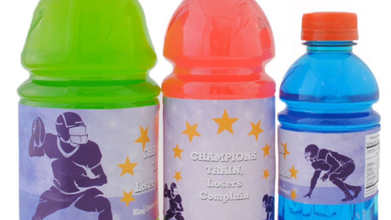 Tiny water bottle clipart freeuse download How to Label Sports Drinks Like a Champ freeuse download