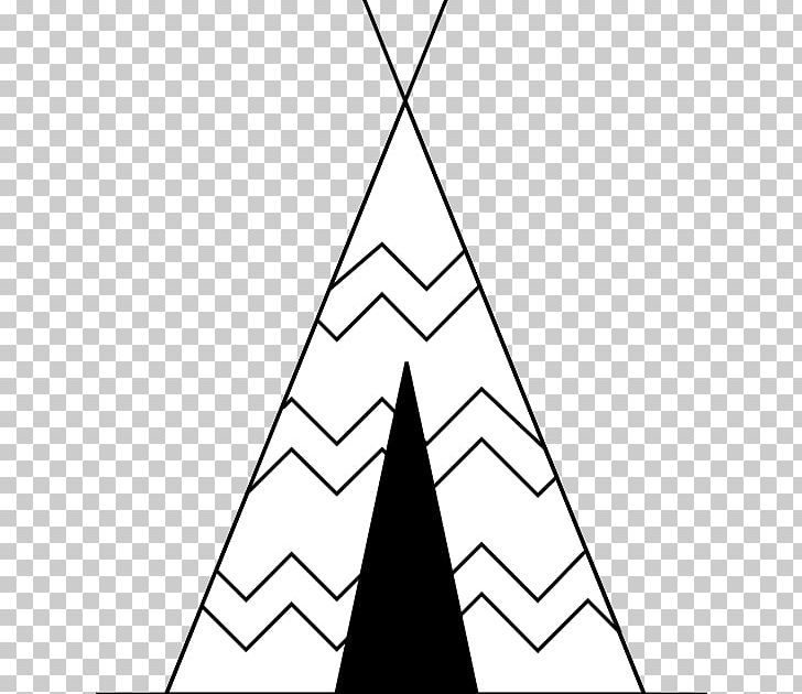 Tipi clipart black and white clip black and white library Tipi Native Americans In The United States Plains Indians ... clip black and white library