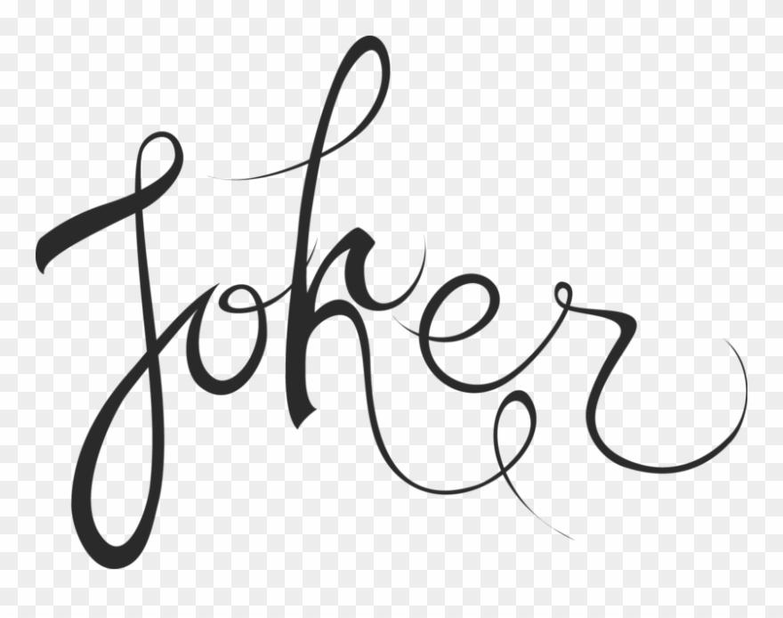 Tipografia clipart vector transparent download Joker Sidra Artesanal Tirada 0 - Joker Tipografia Clipart ... vector transparent download
