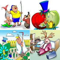 Tiras clipart graphic library stock Clipart, tiras c??micas, caricaturas, illustraciones, signos ... graphic library stock