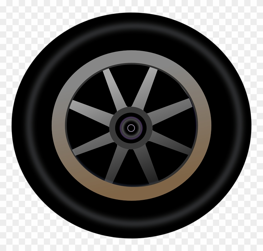 Tire clipart vector jpg download Wheel Rim Clipart Racing Tire - Race Car Wheel Vector, HD ... jpg download