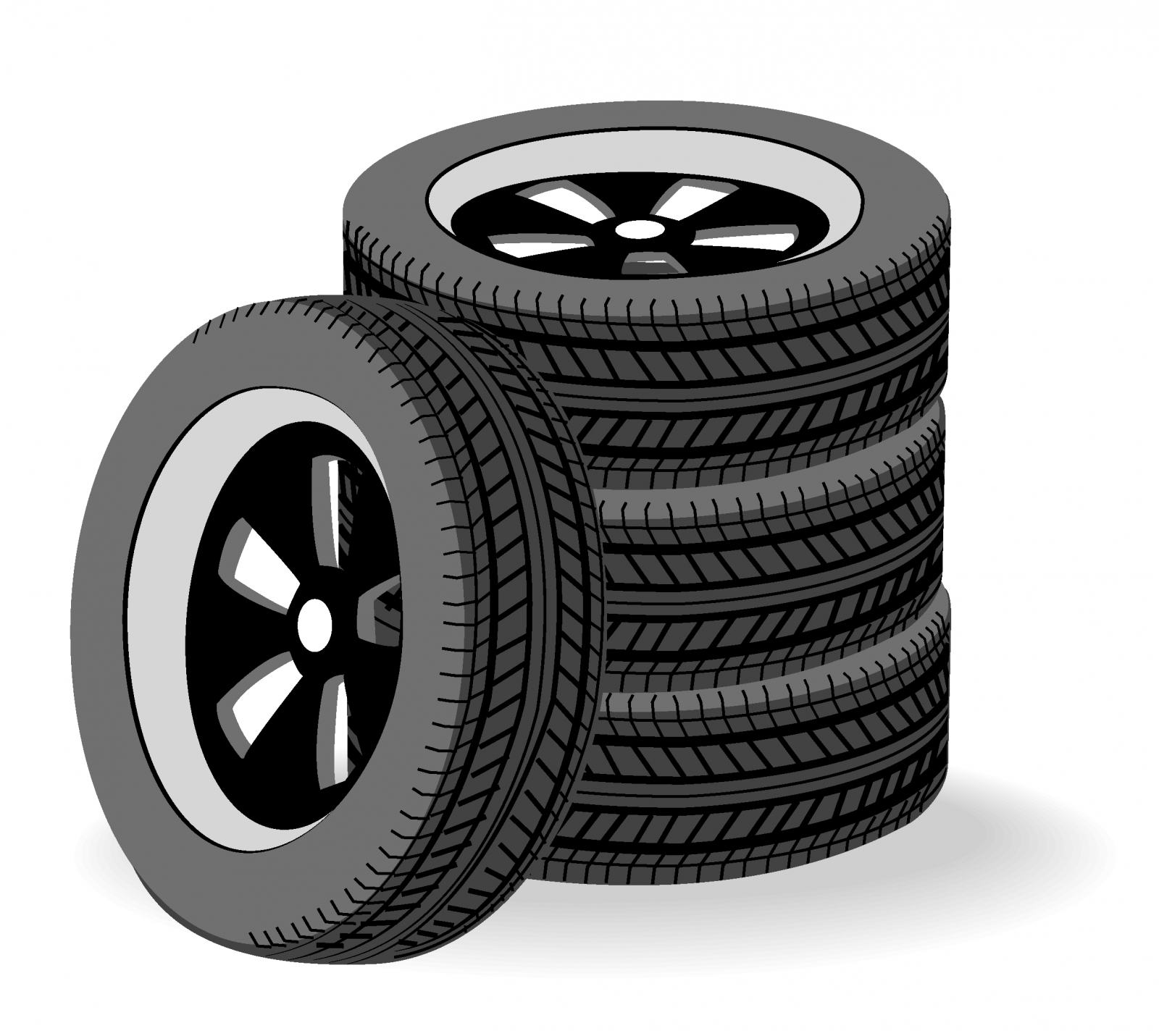 Tire clipart vector clip art royalty free library 69+ Tires Clipart | ClipartLook clip art royalty free library