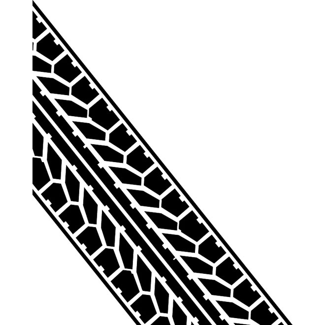 Tire tracks clipart free eps svg transparent download Tire tread vector image - Free vector image in AI and EPS ... svg transparent download