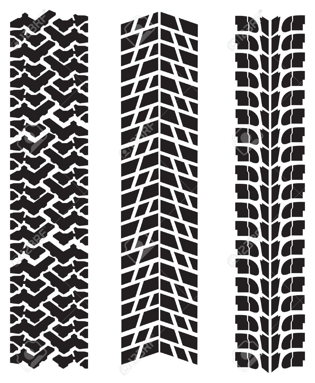 Tire tread patterns clipart png freeuse library Vector Tire Royalty Free Cliparts, Vectors, And Stock Illustration ... png freeuse library