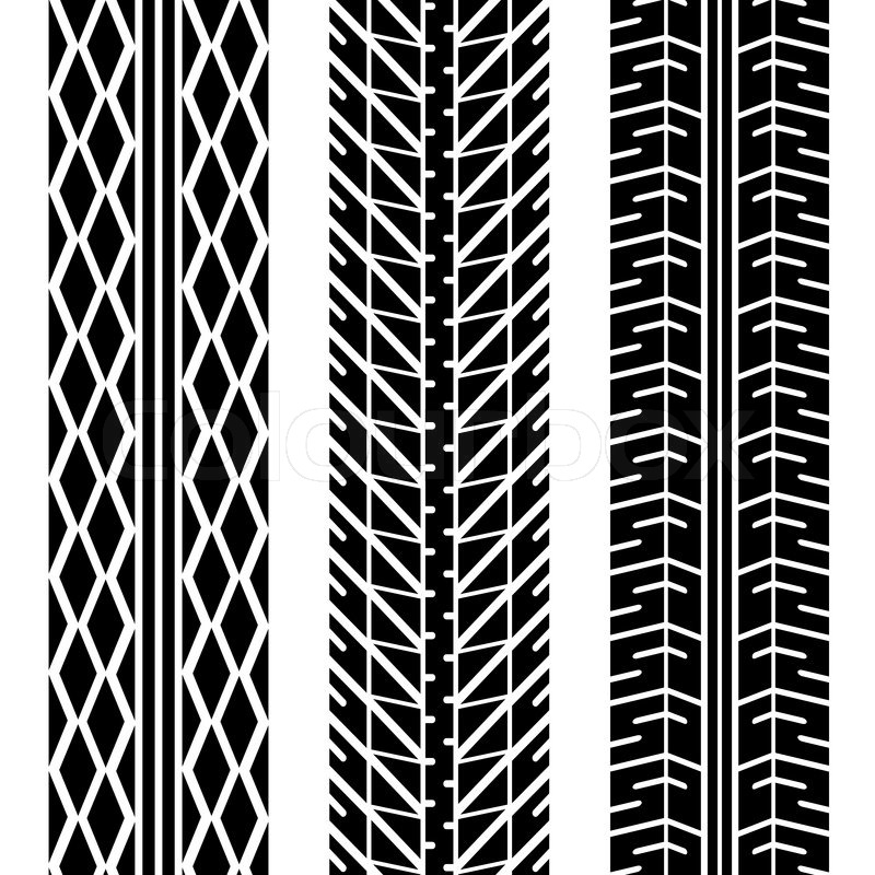 Tire tread patterns clipart vector library download tire tread patterns | Kjpwg.com vector library download