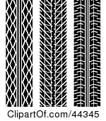Tire tread patterns clipart image black and white Royalty-Free (RF) Tire Tread Pattern Clipart, Illustrations ... image black and white