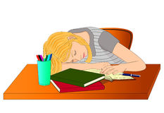 Tired student clipart vector freeuse Tired student clipart - Clip Art Library vector freeuse