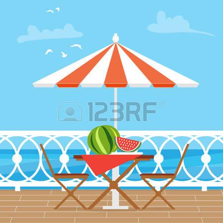 Tisch mit essen clipart vector royalty free stock Essen Garten Tisch Lizenzfreie Vektorgrafiken Kaufen: 123RF vector royalty free stock