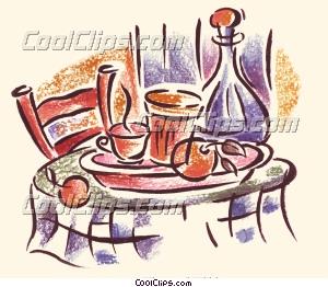 Tisch mit essen clipart clip art free Restaurant tisch clipart - ClipartFest clip art free
