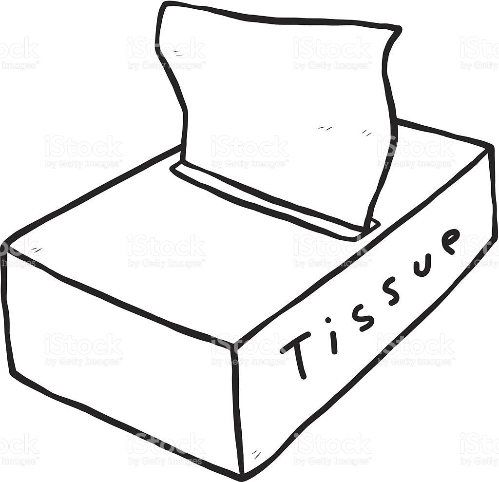 Tissue box clipart black and white image royalty free download Tissue clipart black and white 8 » Clipart Station image royalty free download