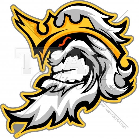 Titan mascot clipart