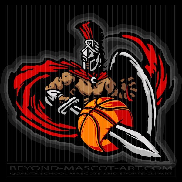 Titan mascot clipart png freeuse Titan Basketball Artwork - Vector Mascot png freeuse