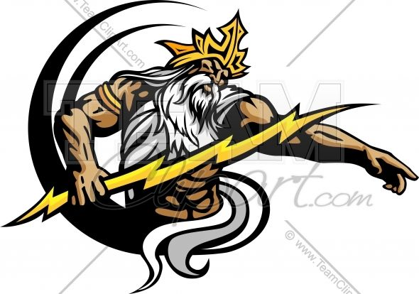 Titan mascot clipart image royalty free library Titan Mascot with Lightning | Titans | Logos, Sports logo ... image royalty free library