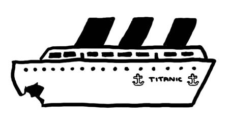Titanic clipart black and white picture free Free Titanic Cliparts, Download Free Clip Art, Free Clip Art ... picture free