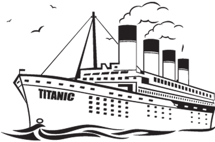 Titanic clipart black and white vector transparent download HD What Is Your Painted Wall Color Demo Simulation - Color ... vector transparent download