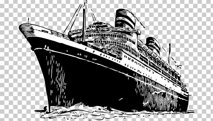 Titanic clipart black and white clip black and white library Sinking Of The RMS Titanic Ship PNG, Clipart, Black And ... clip black and white library