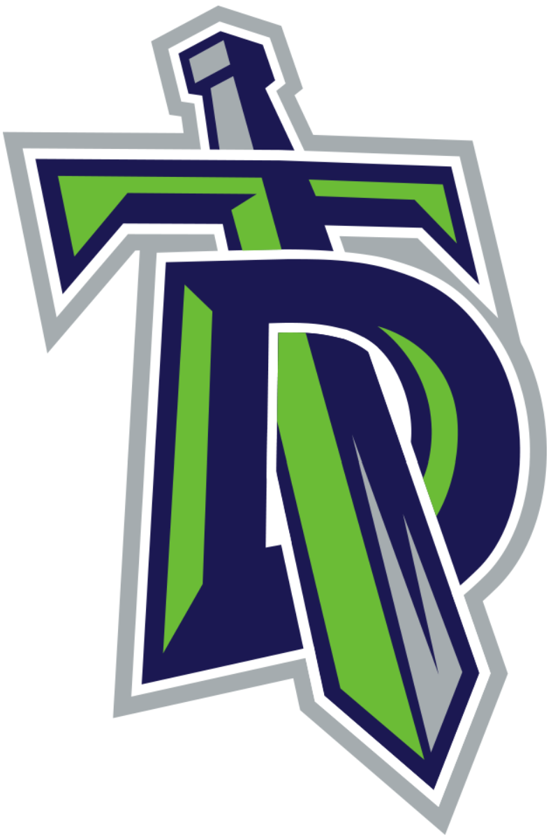 Titans new logo 2016 clipart picture free stock Danbury Titans Primary Logo - Federal Hockey League (FHL) - Chris ... picture free stock