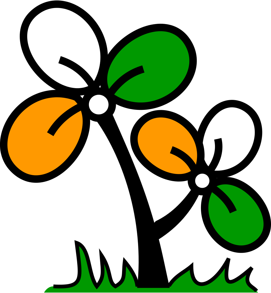 Tmc logo clipart banner library download All India Trinamool Congress Logo - All India Trinamool ... banner library download