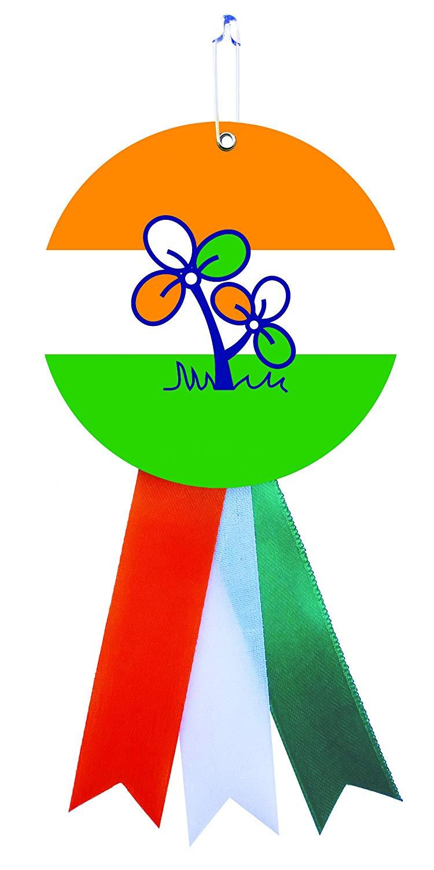 Tmc logo clipart picture black and white stock Buy Ltm All India Trinamool Congress Board Printing ... picture black and white stock