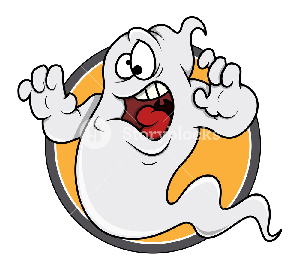 To afraid of ghoust clipart clip free download Scared Ghost Funny Vector Royalty-Free Stock Image ... clip free download