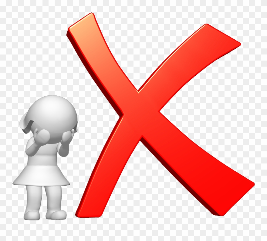 Wrong person clipart picture download Red Cross Clipart Wrong Answer - X Mark Transparent - Png ... picture download