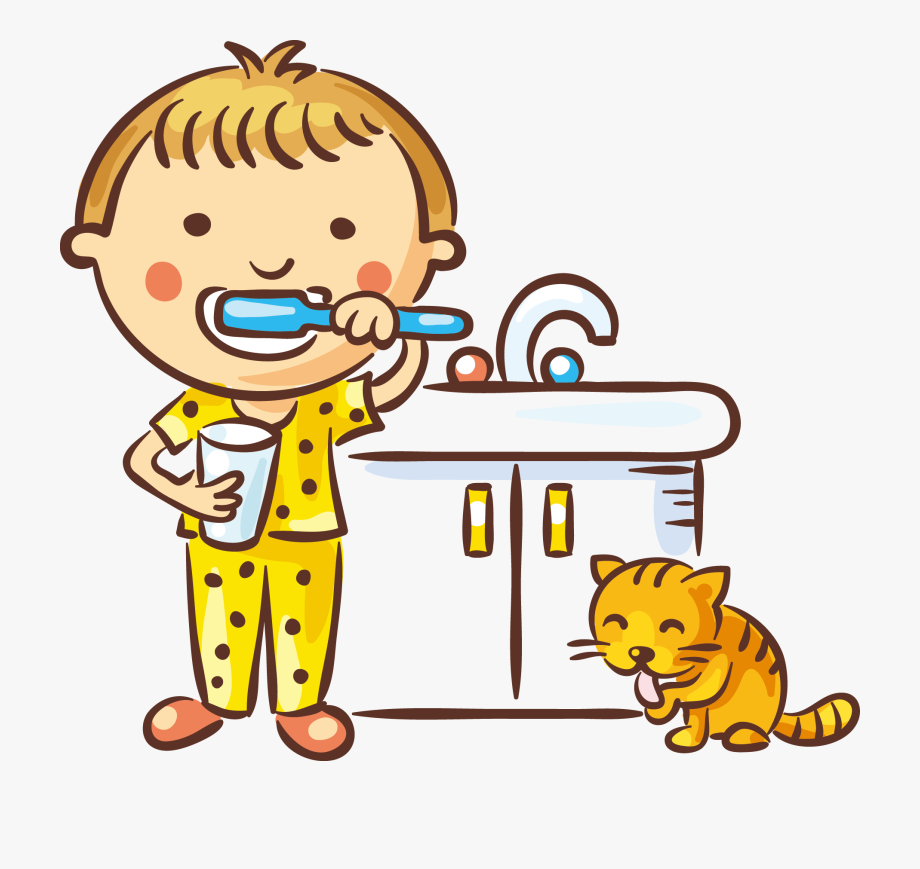 To brush your teeth clipart graphic library Brushing Teeth Clipart Black And White - Brush My Teeth ... graphic library