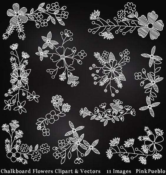 To do clipart chalkboard art svg transparent Chalkboard Flowers Clipart Clip Art, Chalk Board Clipart Clip Art ... svg transparent