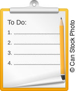 To do list clipart clip freeuse download Todo list Illustrations and Clip Art. 450 Todo list royalty free ... clip freeuse download