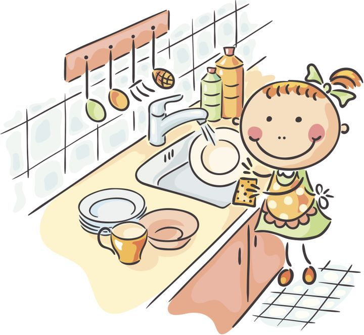 To do the dishes clipart picture free library How Hand-Washing The Dishes Could Make You A Happier Person ... picture free library