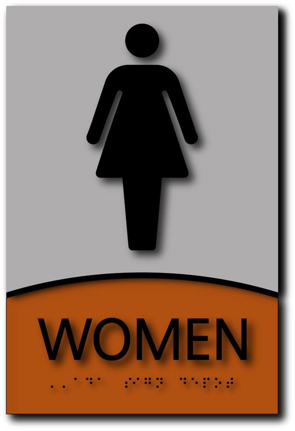 To get dressed clipart bathroom sign style png free download Modern Design Bathroom, Restroom, Shower ADA Signs – ADA ... png free download