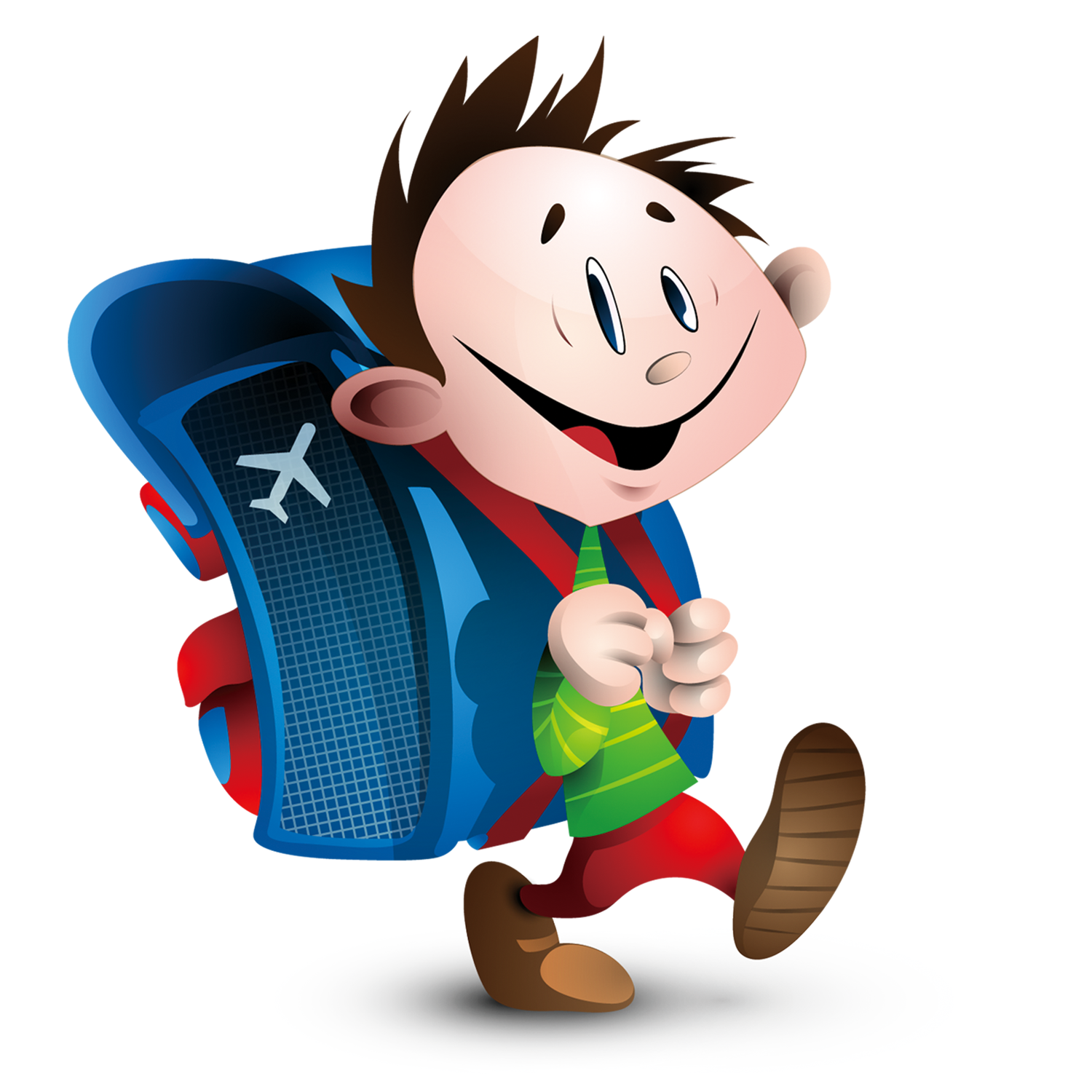 To go to school clipart freeuse download Student French Child School Clip art - Carrying a bag to go to ... freeuse download