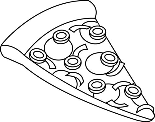 To order pizza clipart black and white banner library Pizza black and white clipart | Clip Art | Clipart black ... banner library