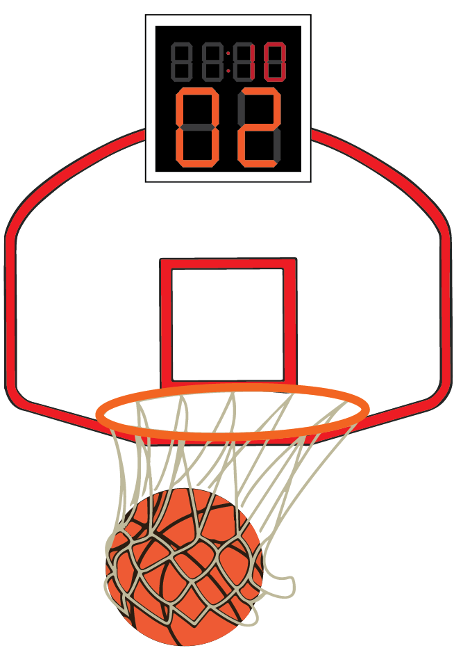To pass a basketball clipart clip art black and white library Down to the buzzer – The Budget clip art black and white library