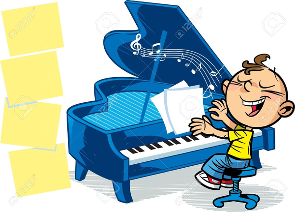 To play the piano clipart picture free download Children Playing Piano Clipart | Free Images at Clker.com ... picture free download