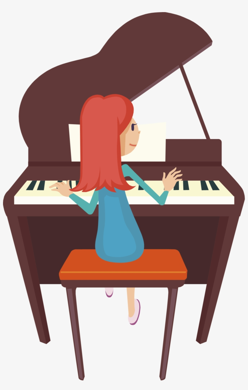 To play the piano clipart png library library Piano Keys Png Clipart Downloadclipart - Playing Piano Clip ... png library library