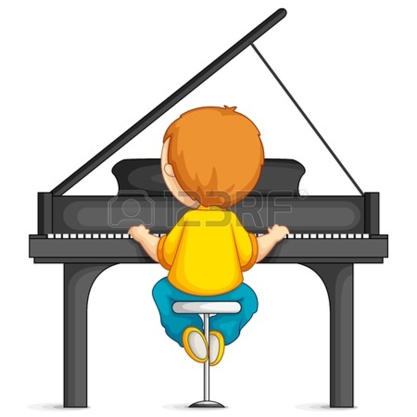 To play the piano clipart graphic black and white library Play piano clipart 3 » Clipart Station graphic black and white library