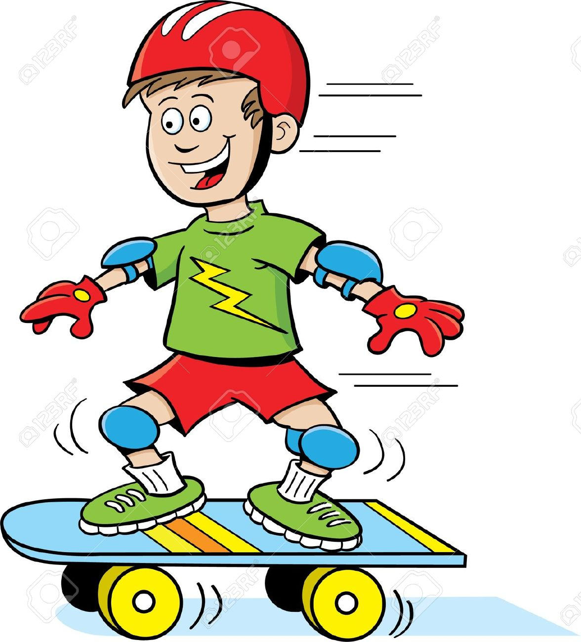 To ride a skateboard clipart clip stock To Ride A Skateboard Clipart clip stock