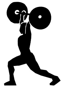 To work out clipart graphic royalty free stock Work Out Clip Art & Work Out Clip Art Clip Art Images - ClipartALL.com graphic royalty free stock