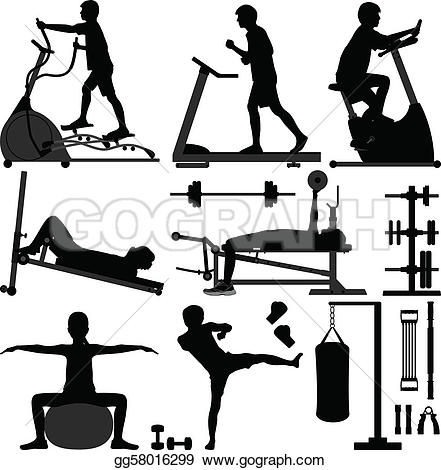 To work out clipart png library Workout Clip Art - Royalty Free - GoGraph png library
