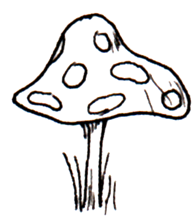 Toadstool clipart black and white image free download Free Toadstool Pictures, Download Free Clip Art, Free Clip ... image free download