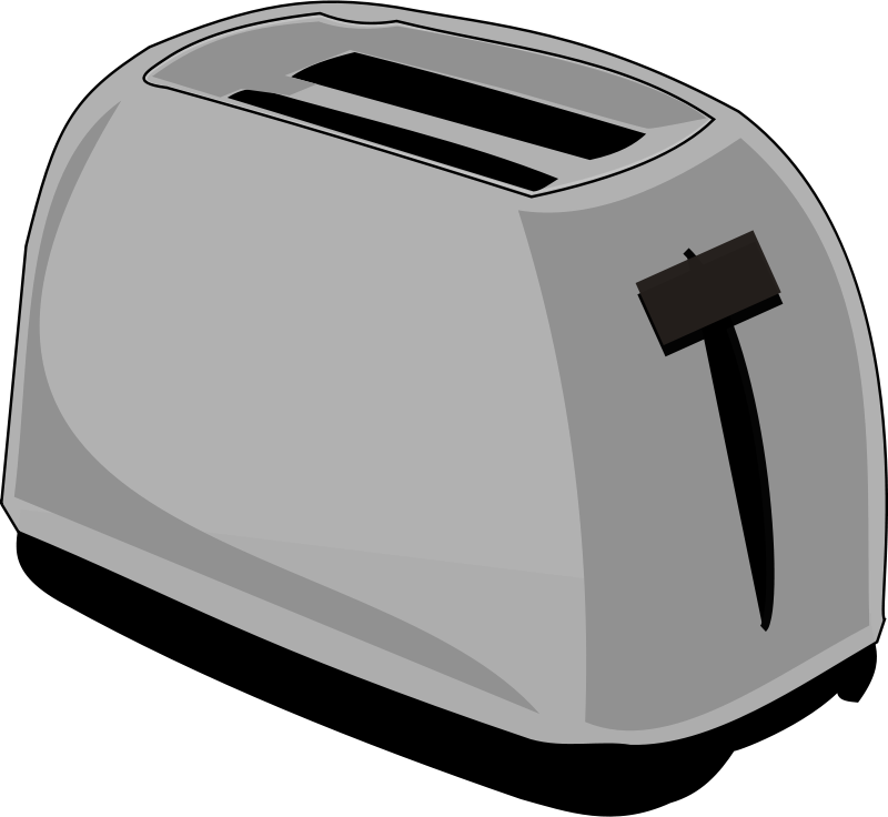 Toaster clipart clipart library library Free Clipart: Toaster | notKlaatu clipart library library