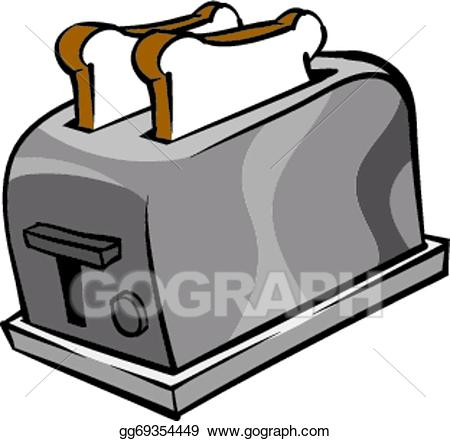 Toaster clipart clip art free library Vector Stock - Toaster. Clipart Illustration gg69354449 ... clip art free library
